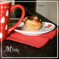 Muffins pomme - cannelle - chocolat