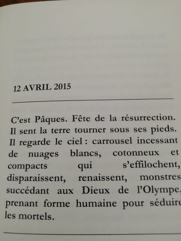 page ecriture