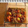 Paupiette de veau aux légumes au cookéo