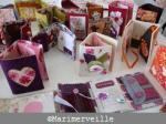 carnets textiles marimerveille