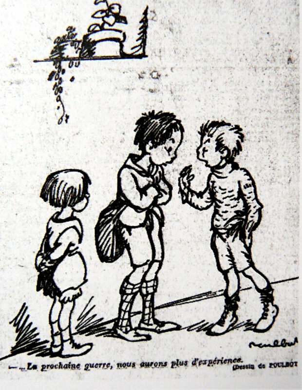 1915-dessin de Francisque Poulbot