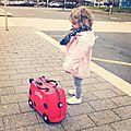 La valise trunki se balade...