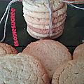 Cookies à la farine de maïs 033
