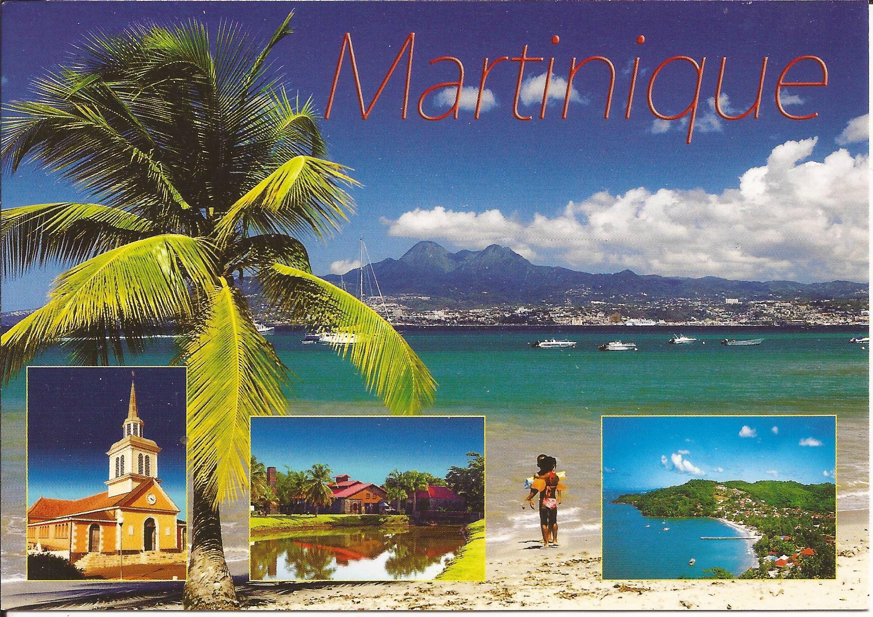 972 Martinique - Dans ma boîte aux lettres (cartes postales de France)