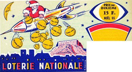 Billet Loterie Père-Noël