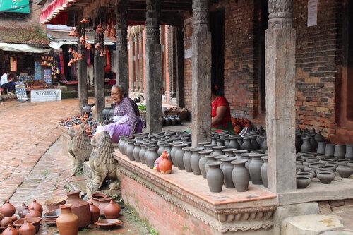 Bhaktapur le marché des potiers