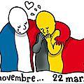 Une pensée pour nos amis belges