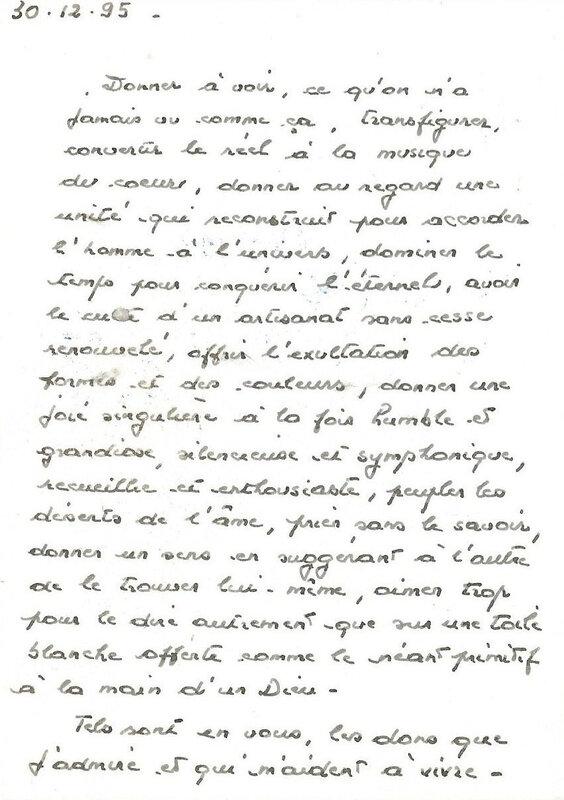 Une carte de vœux de René Lafont