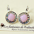 bijoux-mariage-soiree-temoin-cortege-boucles-d-oreilles-Aline-strass-et-cristal-rose-alabaster-argenté
