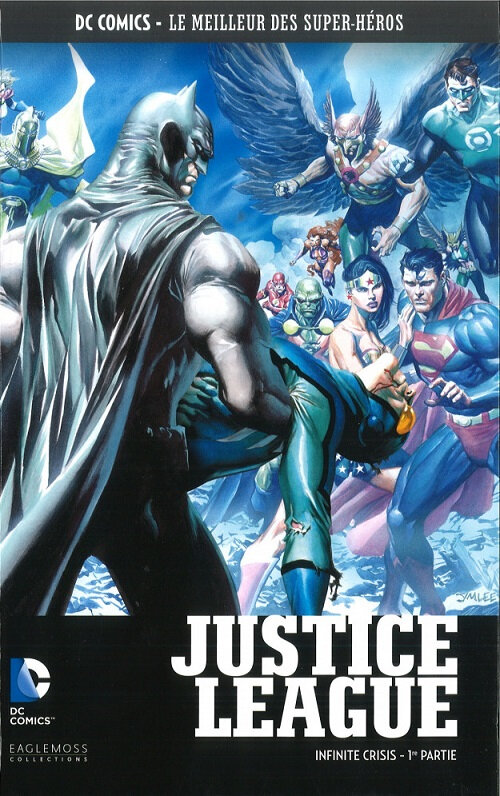 eaglemoss justice league infinite crisis 1
