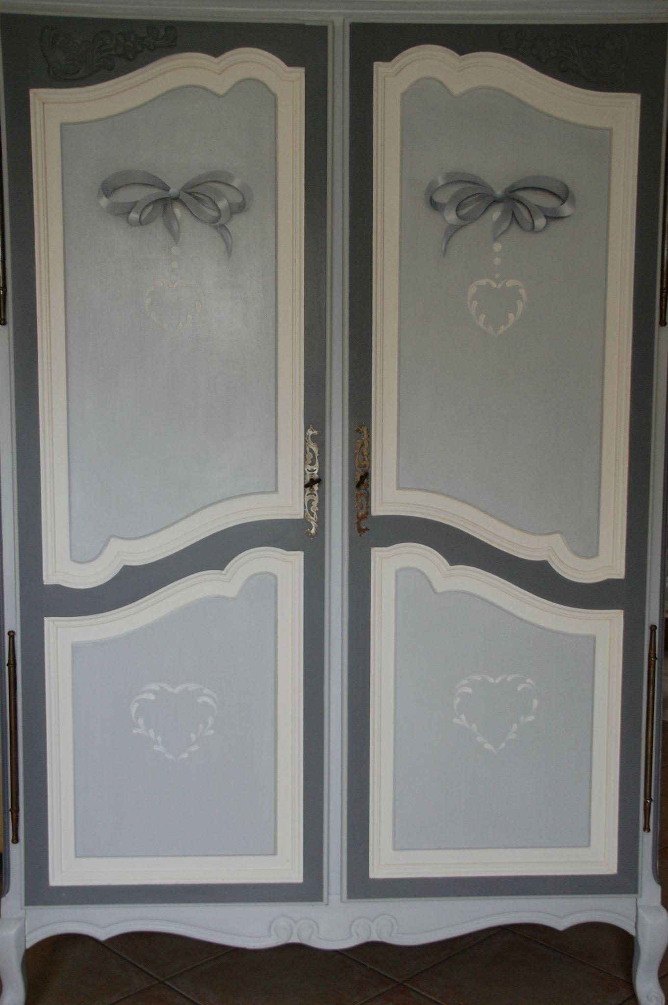 l'armoire de margot, suite et fin - meubles peints et compagnie
