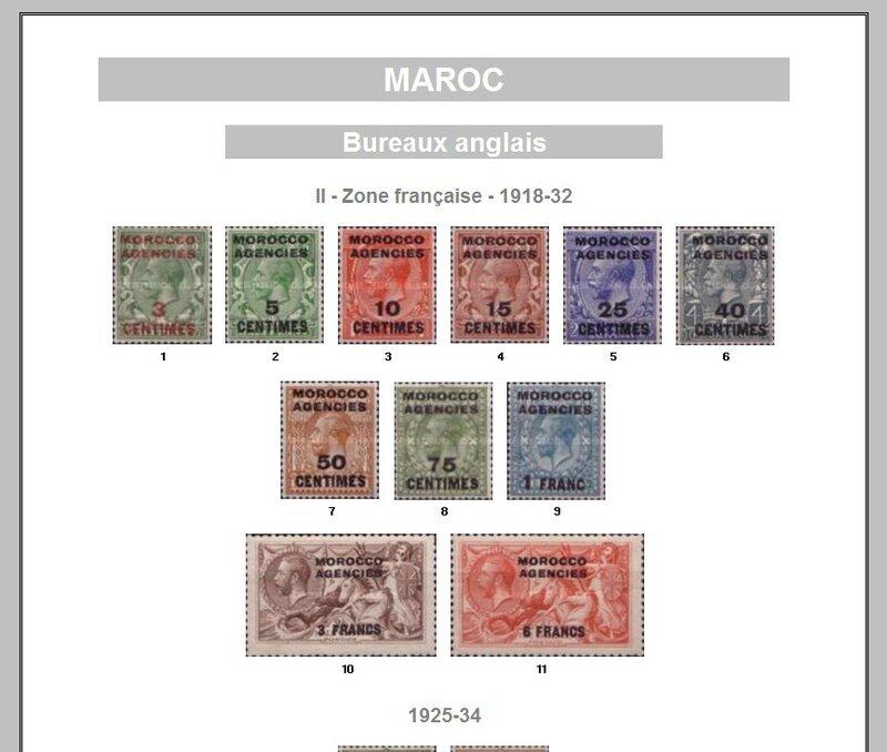 MAROC - BUR ANGLAIS II