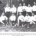 1er novembre 1906 FRANCE-ANGLETERRE AMATEURS