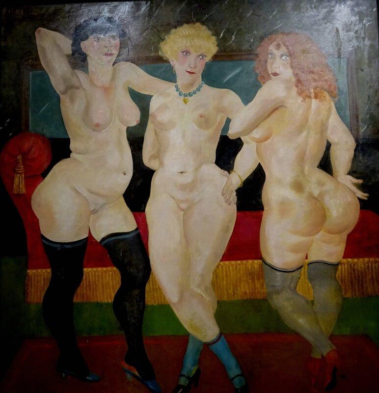 Foujita Trois femmes 1930