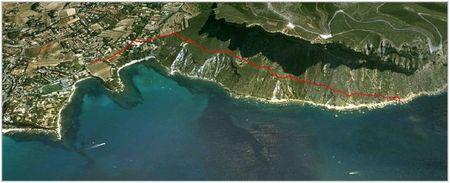 Itinéraire Cap Canaille