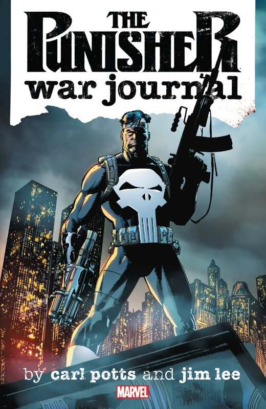 punisher war journal by carl potts and jim lee TP