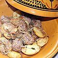 Tajine de boulettes de boeuf aux pommes de terre