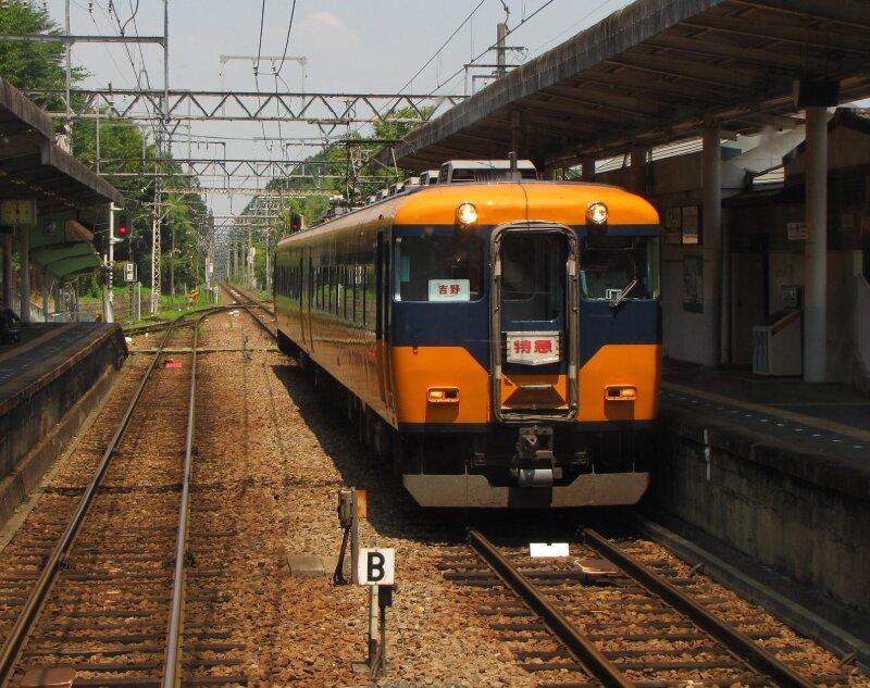 近鉄16000系 壺阪山駅 近鉄吉野線 Kintetsu Yoshino line