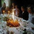 Table d'anniversaires
