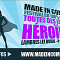 Made in comics 2 - le programme !
