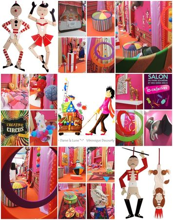 scenographie veronique Decourty_Reims-exposition creative circus-Salon id-creatives 2013