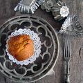 Muffins à la tomate, au basilic et aux fanes de carottes
