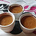 Mousse choco-caramel