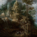 New acquisition from the j. paul getty museum: landscape with the temptation of saint anthony, 1617 of roelandt savery
