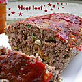 Pain de viande (meat loaf in american)