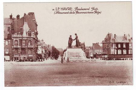 76 - LE HAVRE - Boulevard Foch