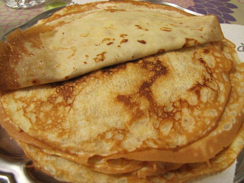 Crêpes malgaches au yaourt et au lait coco