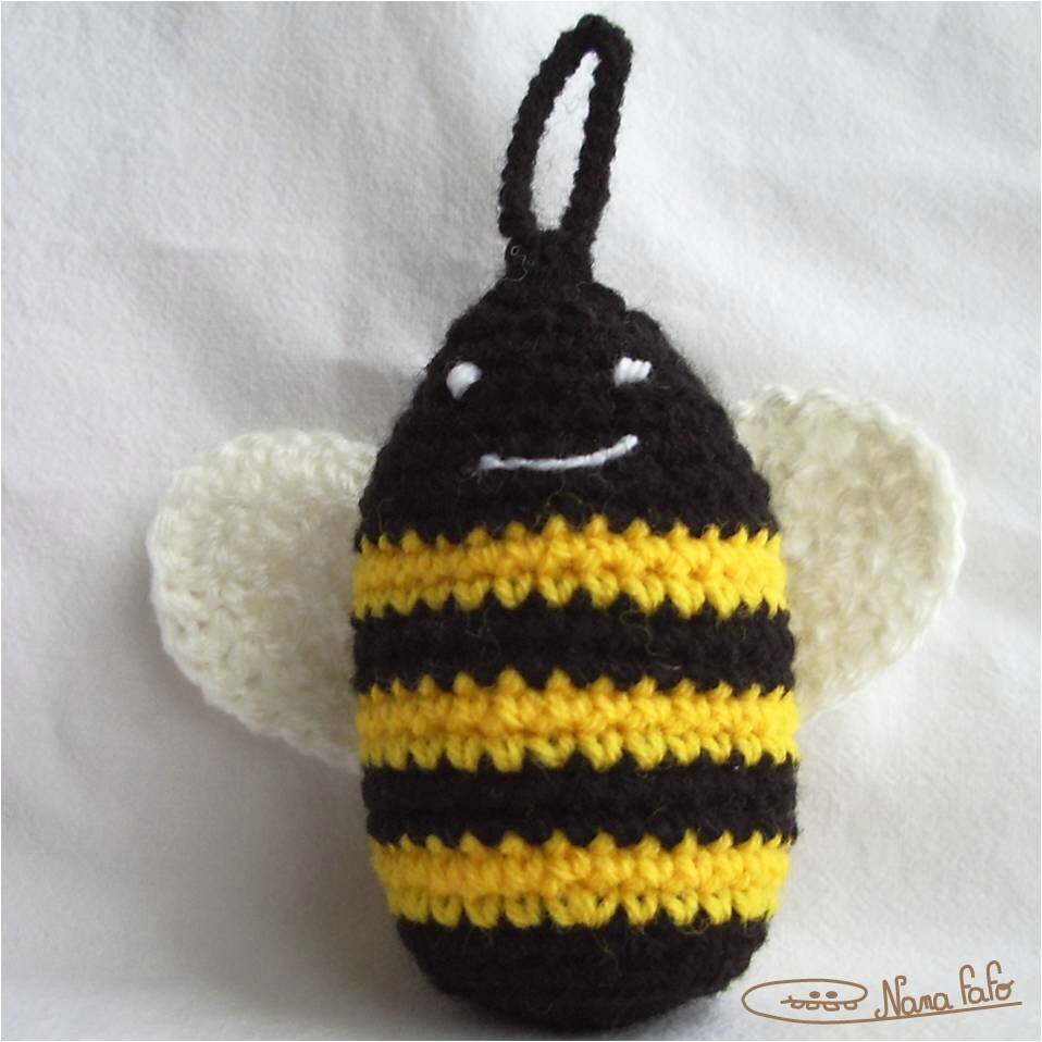 Abeille crochet 3