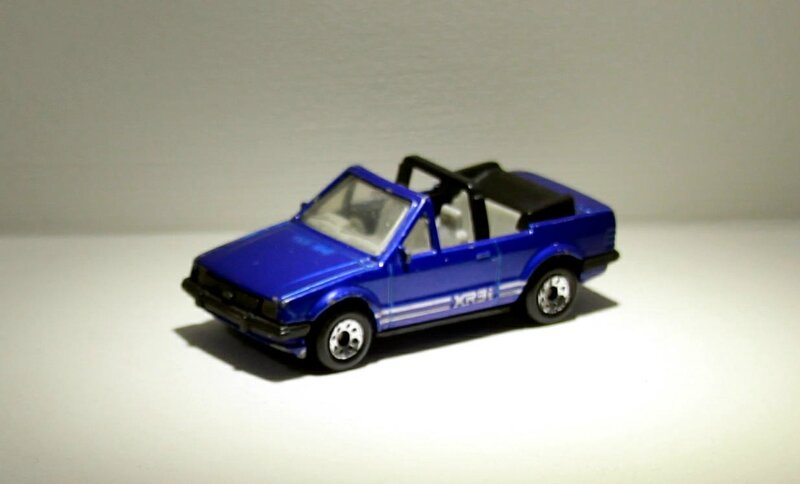 Ford escort cabriolet (Matchbox) 04