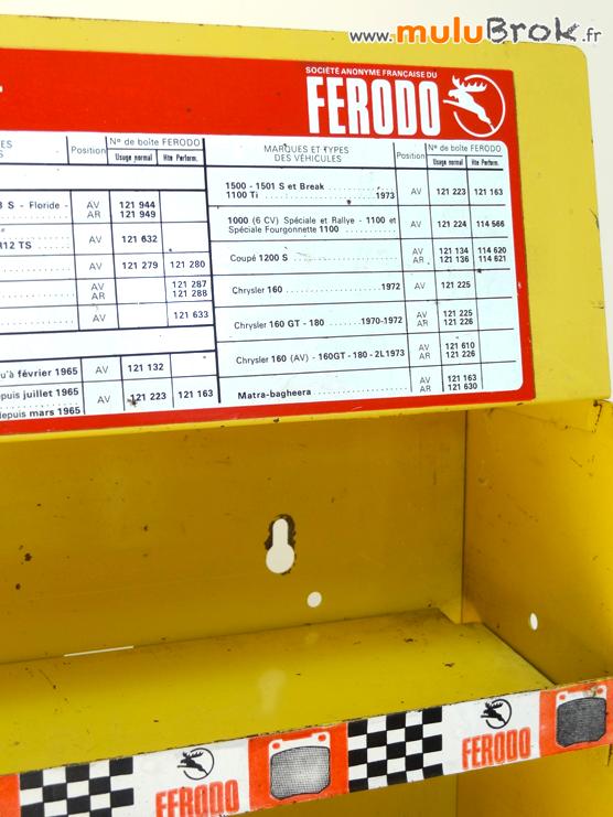 ETAGERE-METAL-FERODO-présentoir-freins-8-muluBrok-Vintage