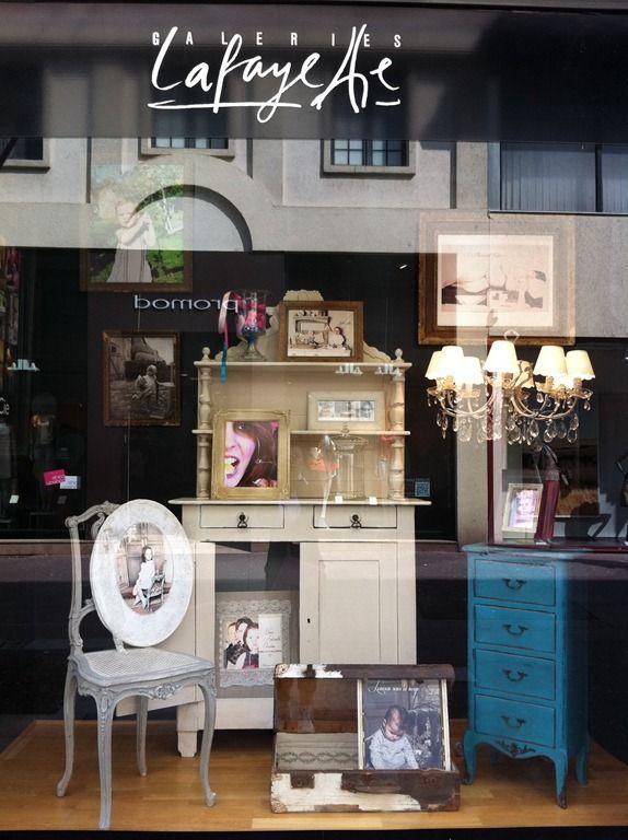 Vitrines des galeries lafayette patines et cie relooking de meubles - Galeries lafayette meubles ...
