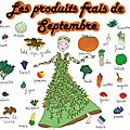 -fruits & légumes de septembre-