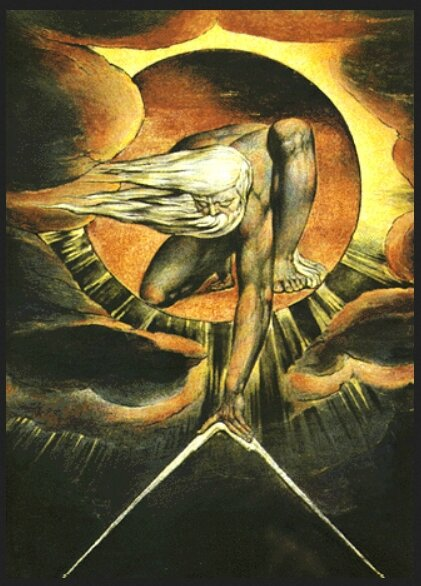Dieu architecte, William Blake, 1794