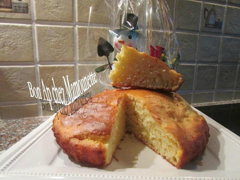 Gâteau à la clémentine et au fromage blanc 009
