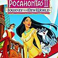 [visionnage post-enfance] #3 : pocahontas 2 - un monde nouveau