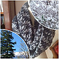 Snood au point turc