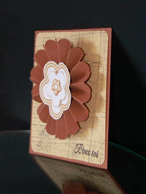 Carte pour le Swap - Formation Stampin'Up! bis