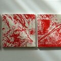 Miniatures rouges 100x20