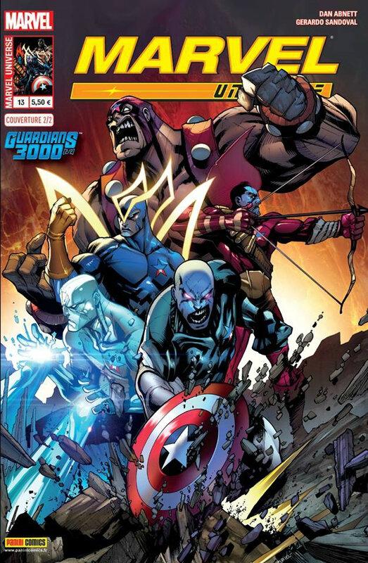 marvel universe V3 13 guardians 3000