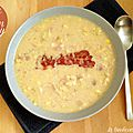 Soupe de maïs de gordon ramsay