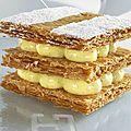 Mon top 10 les gâteaux: n°3: le millefeuille (paris, france)