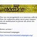 International Campaigns encourage AVA. Merci!