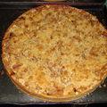 2008 05 17 Une tarte au pomme au crumble que Cyril a fait