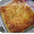 Lasagnes à la carotte