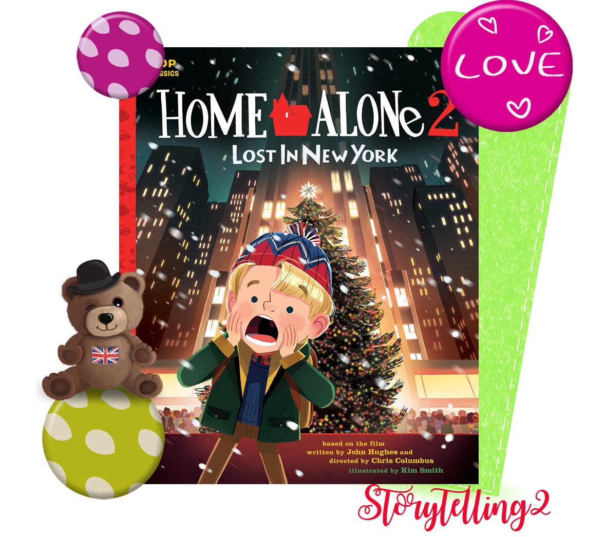 Home alone 2, lost in NY, séquence Christmas cycle 3
