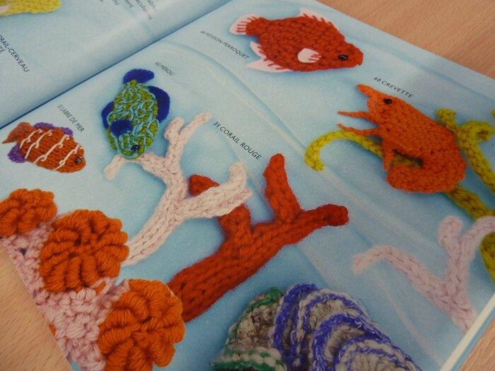 64 Livre 75 poissons et coquillages au tricot et au crochet 7